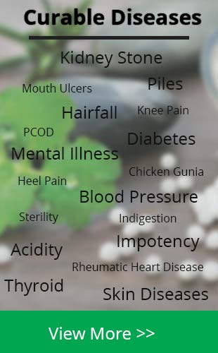 Curable Diseases with Homoeopathy